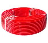 Труба из шитого полиэтилена красная Valtec PEX-EVOH (цена за метр)