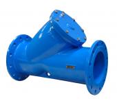 Фильтр магнито-сетчатый AquaFix Ру16 серый чугун, фланцевый