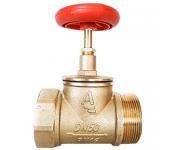 Клапан пожарный КПЛП прямой латунный