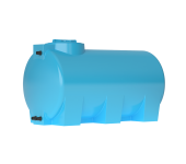 Бак д/воды ATH- 500 (СИНИЙ) с поплавком горизонтальный