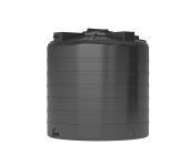 Бак д/воды ATV-1000 (ЧЕРНЫЙ) с поплавком вертикальный