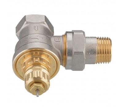 Клапан термостатический угловой  RA-G/RTR-G