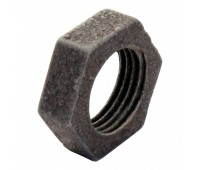 Контргайка стальная черная