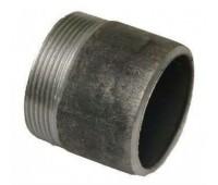 Резьба стальная черная (штуцер) под сварку с наружной резьбой