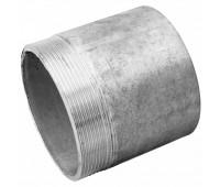 Резьба стальная оцинкованная (штуцер) под сварку с наружной резьбой