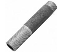 Сгон стальной оцинкованный с наружной резьбой