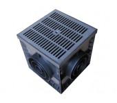 Дождеприемник Standartpark ДП-30.30 комплект с пластиковой решеткой
