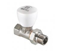 Клапан ручной ValTec для радиатора прямой VT.008.N