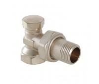 Клапан запорный ValTec для радиатора угловой