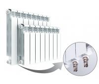 Радиатор алюминиевый RIFAR Alum Ventil 500 VL нижнее левое подключение