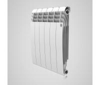 Радиатор биметаллический Royal Thermo BiLiner 500 боковое подключение белый