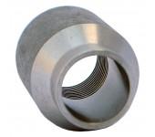 Бобышка круглая для термометра БК резьба( М27х2)  - сварка